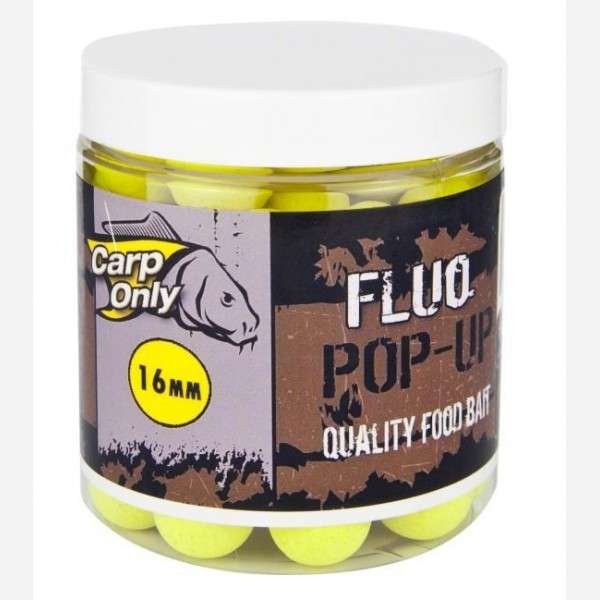 Plovoucí boilies CARP ONLY Fluo Yellow 80g